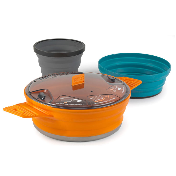 SEA TO SUMMIT | X-SET 21 - 3 Piece Cookset (Pot, Bowl, Mug)
