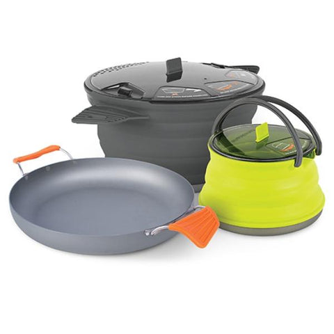 SEA TO SUMMIT |  X-SET 32 - 3 Piece Cookset (Pot, Pan, Kettle)