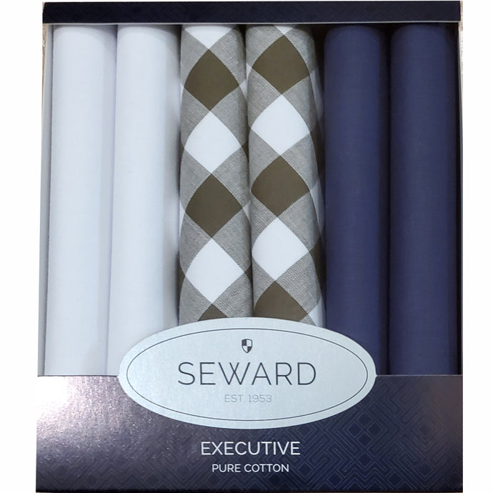 SEWARD | Men's Executive Handkerchiefs set of 6 - Urban Jungle