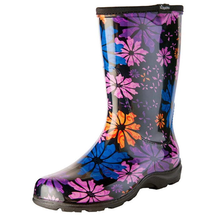 SLOGGERS  | Womens Splash Boot - Flower Power