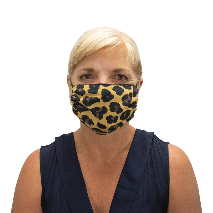 ANNABEL TRENDS | Washable Reusable Face Mask - Ocelot
