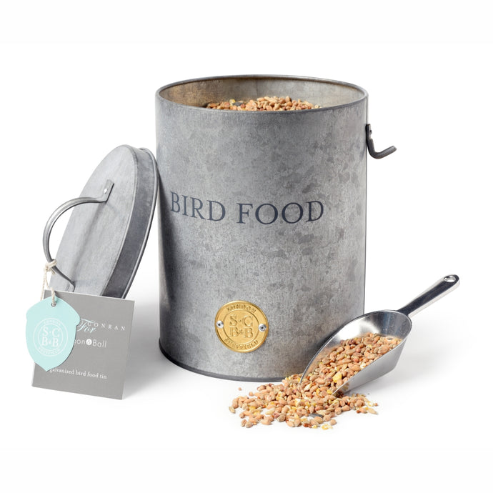 SOPHIE CONRAN | Bird Food Tin - Galvanized