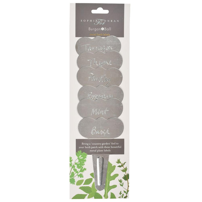 SOPHIE CONRAN | Metal Herb Labels