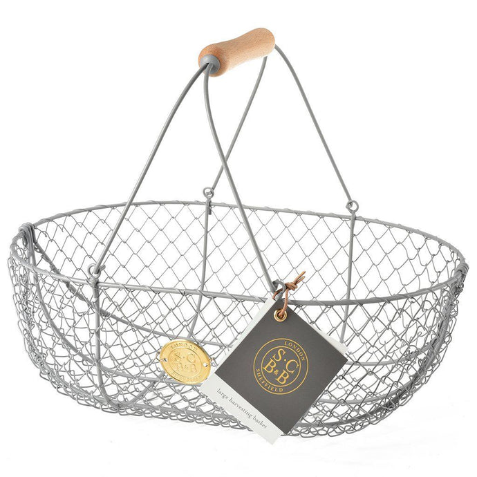 SOPHIE CONRAN | Harvesting Basket - Large Grey