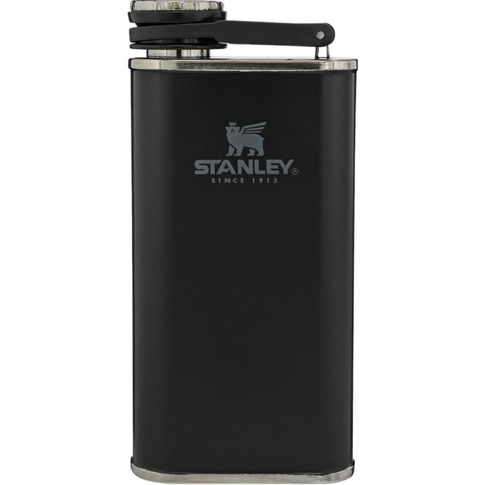 STANLEY Classic Easy-Fill Wide Mouth Hip Flask - Matte Black