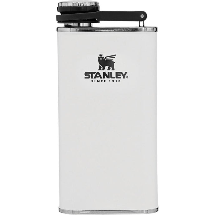 STANLEY Classic Easy-Fill Wide Mouth Hip Flask - Polar White