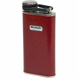 STANLEY Classic Easy-Fill Wide Mouth Hip Flask 236ml - Classic Red