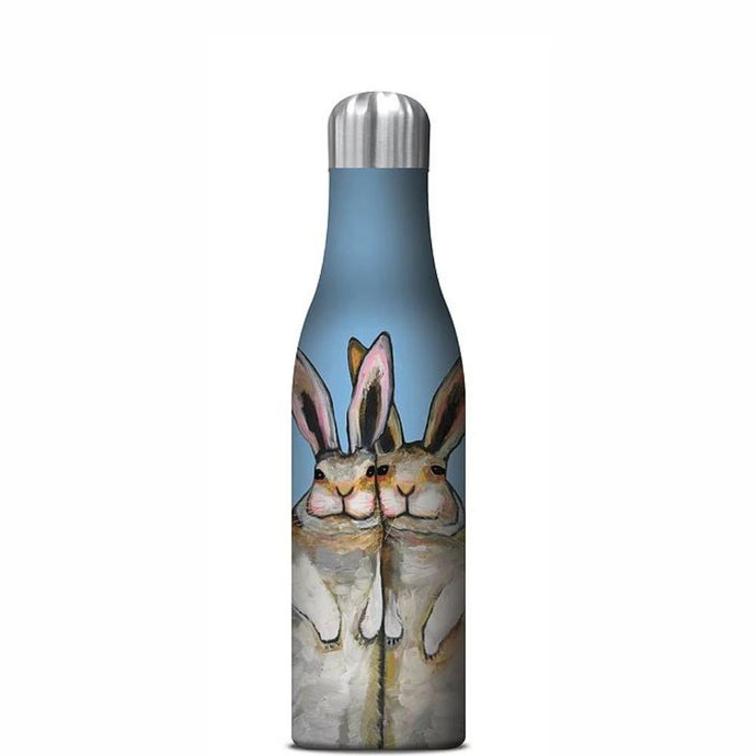 STUDIO OH  |  Insulated Water Bottle 500ml - Bunny Friends