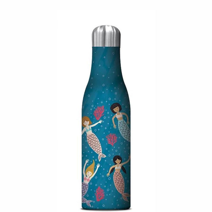 STUDIO OH  |  Insulated Water Bottle 500ml - Mermaid Tales