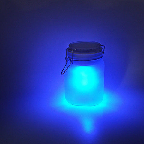 SUCKUK | Solar LED Sun Jar - Blue