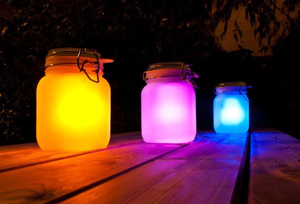 SUCKUK | Solar LED Sun Jar - Pink