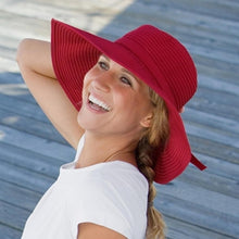 Load image into Gallery viewer, SUNDAY AFTERNOONS | Beach Hat - Red