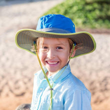 Load image into Gallery viewer, SUNDAY AFTERNOONS | Kids Clear Creek Boonie Hat - Deep Blue / Chaparral