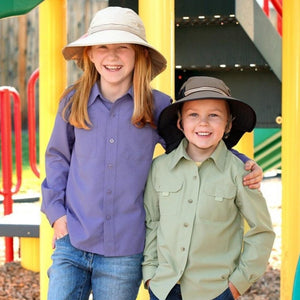 SUNDAY AFTERNOONS | Kids Play Hat - Green Camoflage