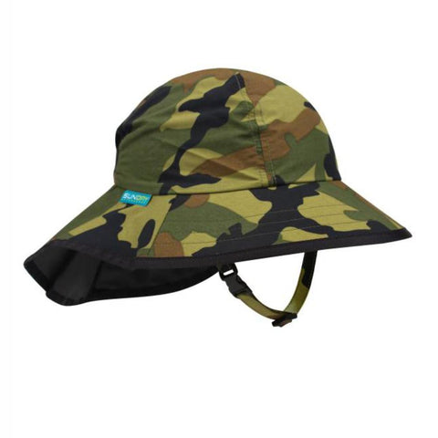 SUNDAY AFTERNOONS | Kids' Play Hat - Green Camoflage