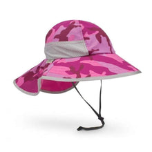 Load image into Gallery viewer, SUNDAY AFTERNOONS | Kids Play Hat - Pink Camoflage
