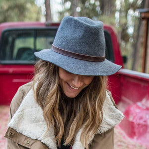 SUNDAY AFTERNOONS | Tessa Hat - Black - 100% Australian Wool