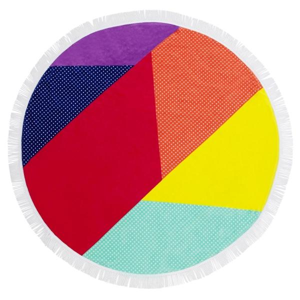 SUNNYLIFE | ROUND OFF Round Beach Towel - Hulule