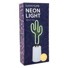 Load image into Gallery viewer, SUNNYLIFE | BRIGHT IDEA Cactus Neon Light - Small