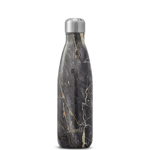S'Well | Insulated Stainless Steel Bottle ELEMENTS Collection 500ml - Bahamas Gold Marble