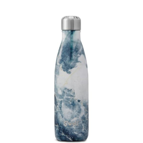 S'Well | Insulated Bottle ELEMENTS Collection 500ml - Blue Granite