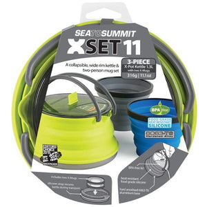 SEA TO SUMMIT | X-SET 11 - Kettle Set (Kettle, 2 Mugs )
