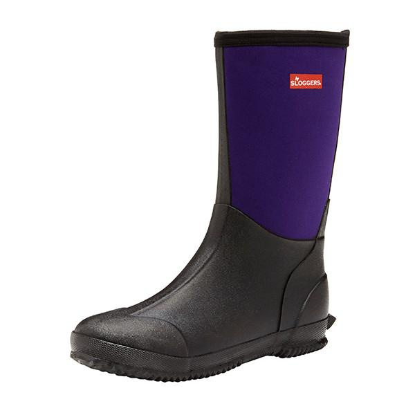 SLOGGERS  | Womens Slush Boots (Black /Plum)