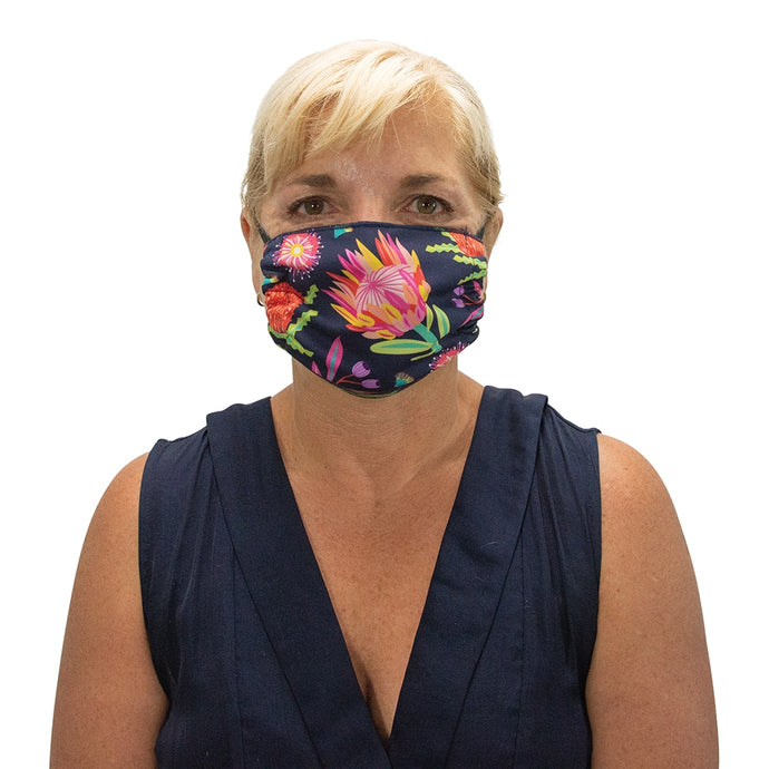 ANNABEL TRENDS | Washable Reusable Face Mask - Aussie Flora