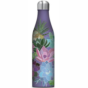 STUDIO OH  |  Insulated Water Bottle 750ml - Succulent Paradise