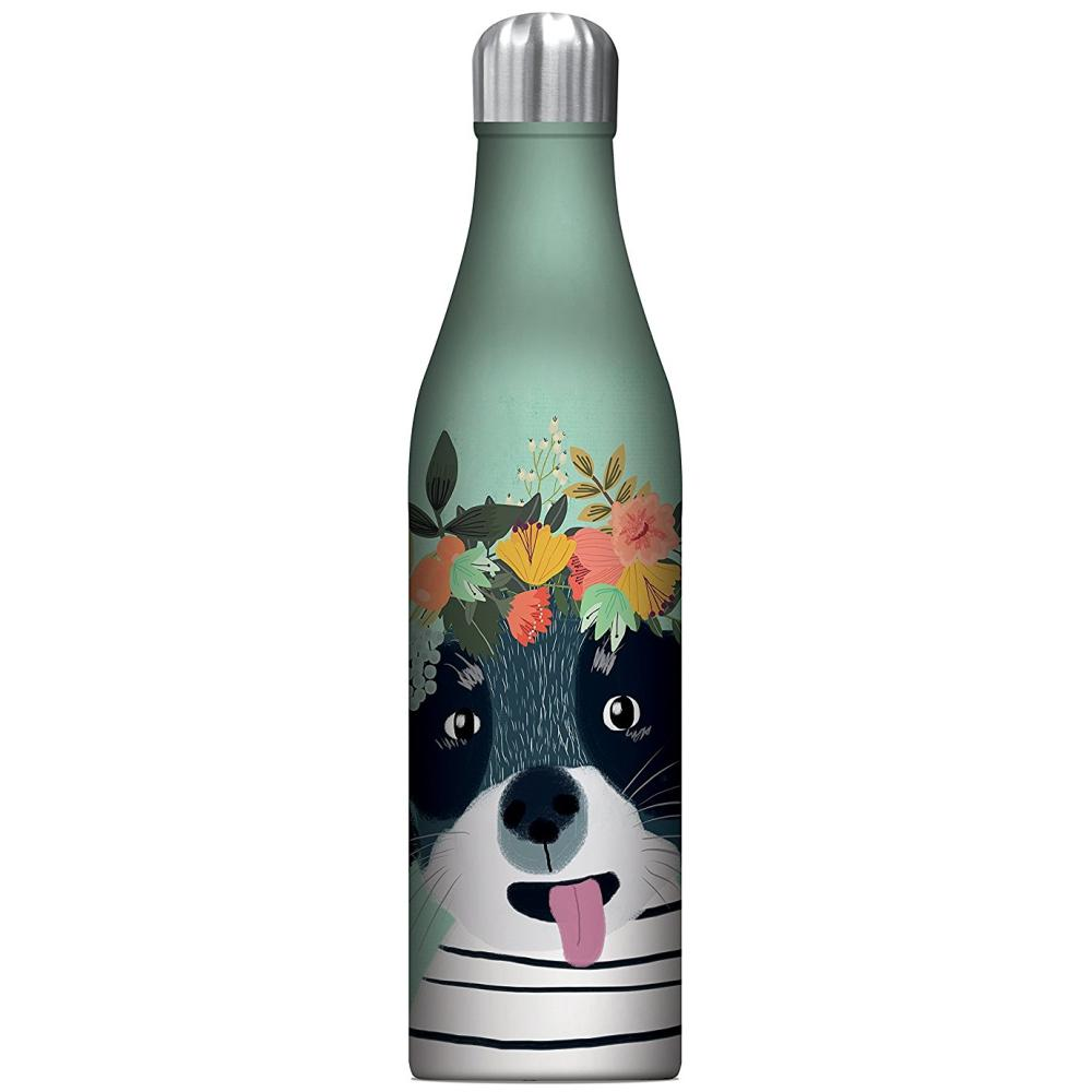 STUDIO OH  |  Insulated Water Bottle 750ml - Fancy Dog