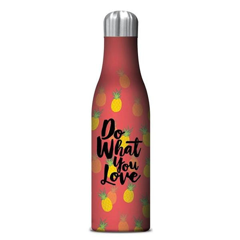 STUDIO OH  |  Insulated Water Bottle 500ml - Love Pineapples