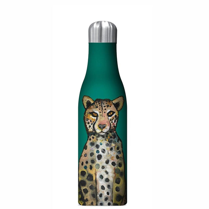 STUDIO OH  |  Insulated Water Bottle 500ml - Ch Ch Ch Cheetahs