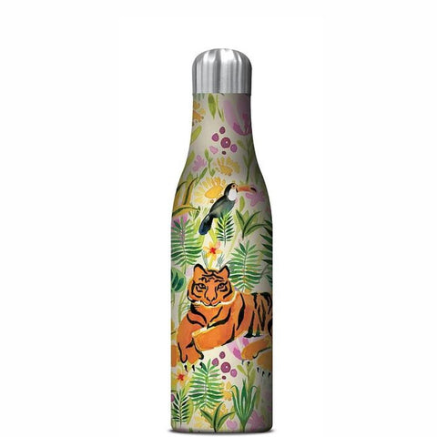 STUDIO OH  |  Insulated Water Bottle 500ml - Tiger Jungle