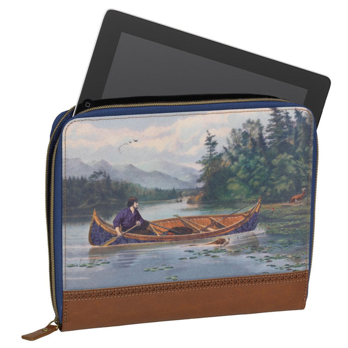 TED BAKER | Mens Tablet Sleeve / Laptop bag - Canoe