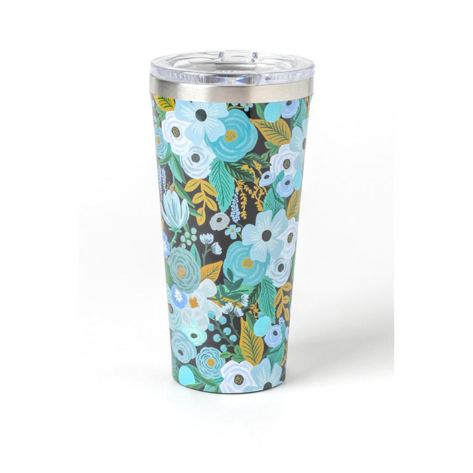 CORKCICLE x RIFLE | Stainless Steel Insulated Tumbler 16oz (470ml) - Garden Party Blue