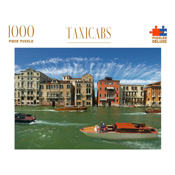 PUZZLES DELUXE 1000 Piece Jigsaw Puzzle - Taxicabs