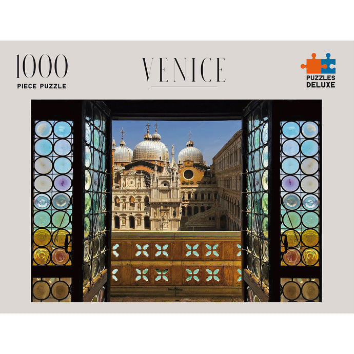 PUZZLES DELUXE 1000 Piece Jigsaw Puzzle - Venice, Italy