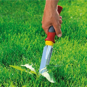 Easily pull weeds out with WOLF GARTEN | Weeding and Planting knife