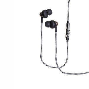 KREAFUNK | Agem Earphones - Black - Hands free function cable