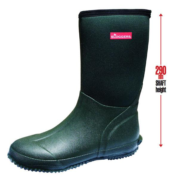 SLOGGERS  | Womens Slush Boots (Green)