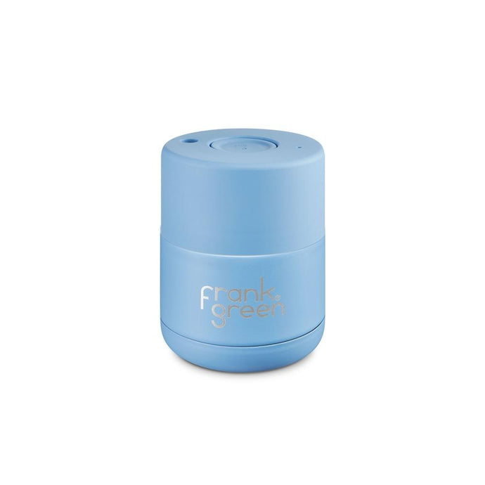 FRANK GREEN | STAINLESS STEEL Reusable Coffee Cup 6oz / 175ml - Little Boy Blue