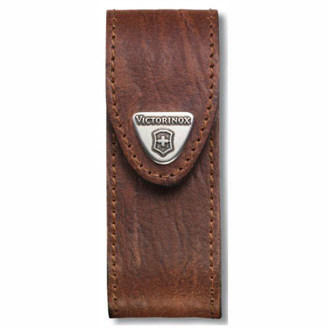 VICTORINOX  |  Leather Belt Pouch Large - Brown (05691) 4.0543