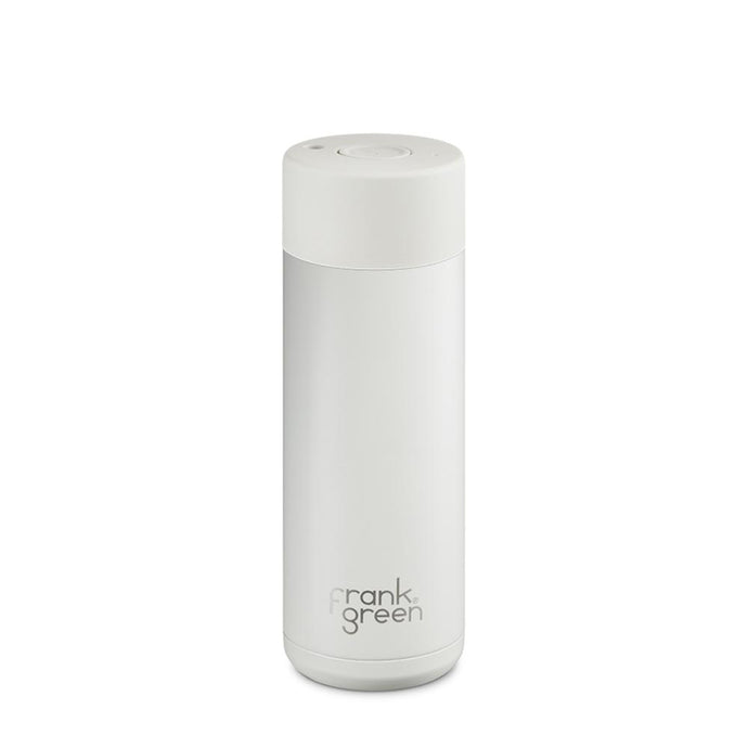FRANK GREEN | STAINLESS STEEL Smart Water Bottle 20oz / 595ml - White Coconut Milk