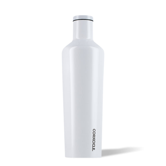 CORKCICLE | Stainless Steel Insulated Canteen 25oz (740ml) - Dipped White