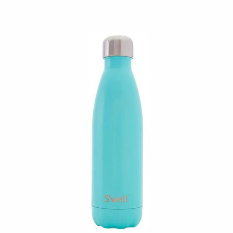 S'Well | Insulated Bottle SATIN Collection 500ml - Turquoise Blue