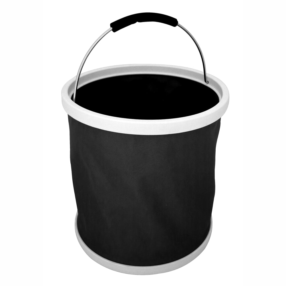 BUCKET INA BAG™ | Collapsible Waterproof Flatpack Bucket 11L - Black