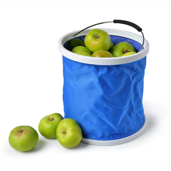 BUCKET INA BAG™ | Collapsible Waterproof Flatpack Bucket 11L - Blue