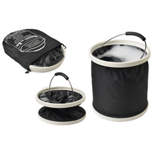 Load image into Gallery viewer, BUCKET INA BAG™ | 11L  - Black opened