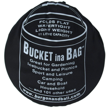 Load image into Gallery viewer, BUCKET INA BAG™ | 11L  - Black cover
