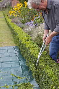 BURGON & BALL | Topiary Hedge Shears in use